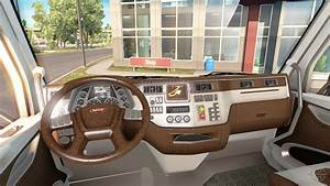 The new color Peterbilt 579 interior for American Truck ...