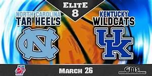 NCAA South Region Elite 8: North Carolina Tar Heels vs ...