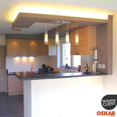 plan de cuisine ouverte idée relooking cuisine cuisine ouverte moderne avec bar