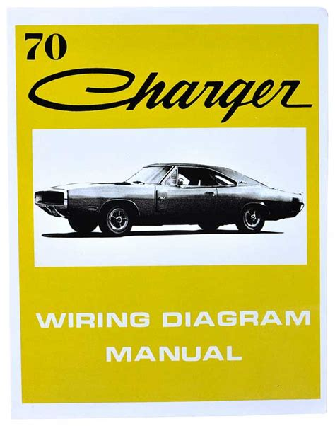 1970 all makes all parts l1233 1970 dodge charger wiring diagram manual classic