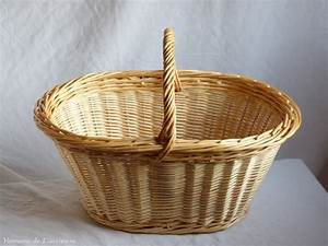 Panier À Linge En Osier : grand panier ovale en osier artisanat vente en ligne ~ Melissatoandfro.com Idées de Décoration
