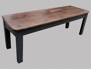 Table Basse Longue : longue et troite table basse ancienne pour salon en ~ Teatrodelosmanantiales.com Idées de Décoration
