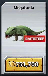 Jurassic Park Builder: Megalania | Gameteep