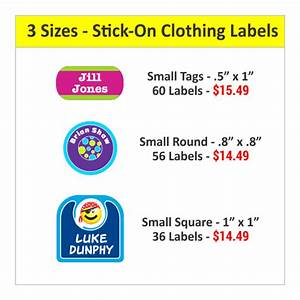 stick on clothes labels clothing label stickers With clothing label stickers