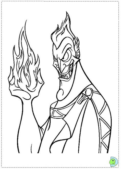 hercules coloring page dinokidsorg