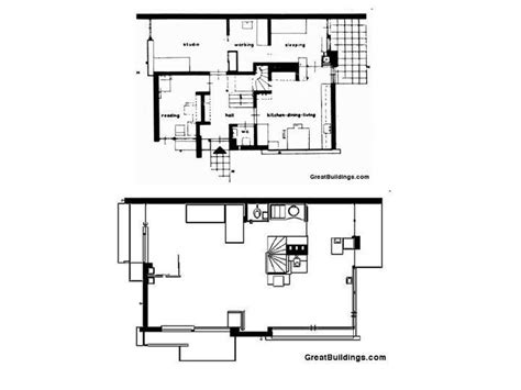Rietveld-Schroder House-Plan