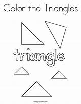 Coloring Triangles Pages Sheets Triangle Noodle Twisty Shapes Printable Print Worksheets Activities Twistynoodle Built California Usa Template sketch template