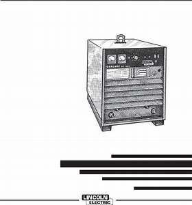 Lincoln Electric Im420 Idealarc Dc
