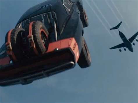Fast Seven Cars by How Furious 7 Dropped Real Cars From Planes In Its Most