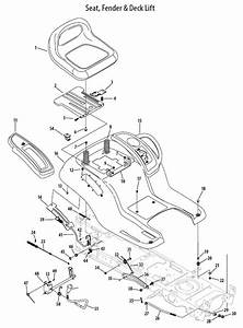 Cub Cadet Ltx 1040 Mower Deck Diagram