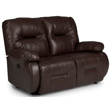 Best Reclining Loveseat by Best Home Furnishings Brinley 2 Space Saver Power