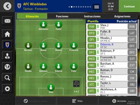 mobile manager android football manager mobile 2016 juego android 3djuegos