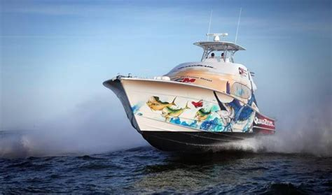 Fishing Boat Graphics Lettering by Custom Boat Wrap Designs Decals Lettering Cost Design