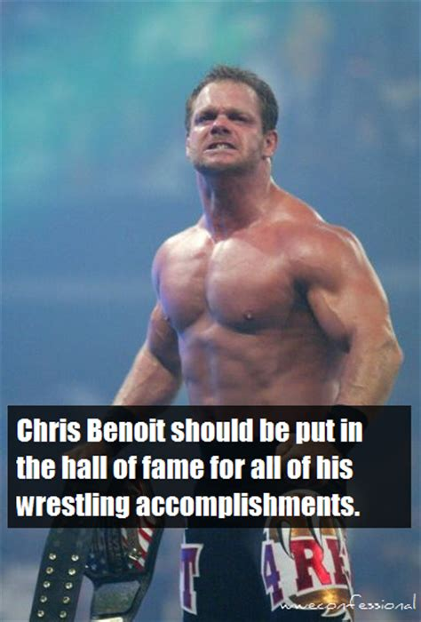 Chris Benoit Memes - chris benoit meme