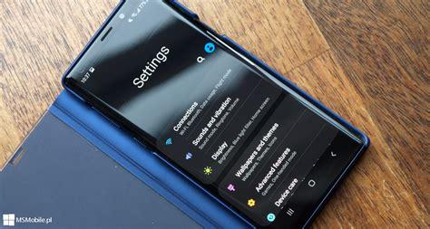 android pie z one ui przyspieszy telefony samsung galaxy msmobile pl