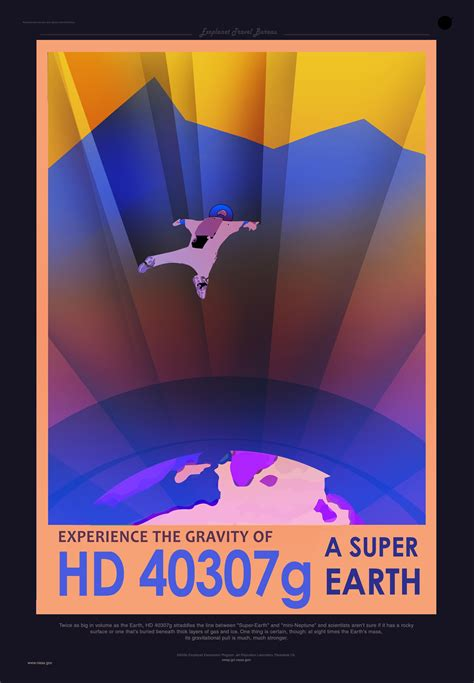 nasas travel posters promote newly discovered planets