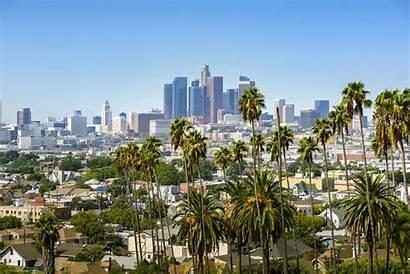 Angeles California Downtown Stadt America Engel Gala