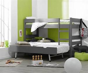 Kinder Matratze 90x190 : kinder etagenbetten 1 2 3 aus massivholz mit 2 matratzen ~ Frokenaadalensverden.com Haus und Dekorationen