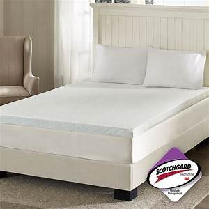 flexapedic by sleep philosophy 3quot memory foam mattress With cheap bed toppers