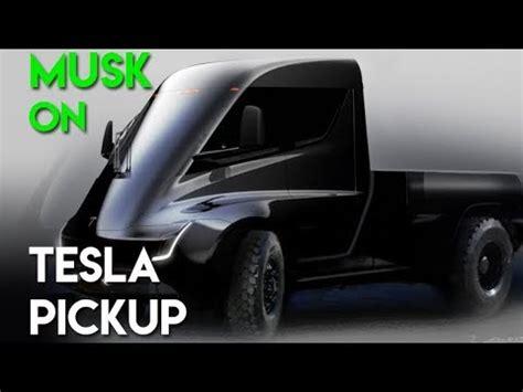tesla pickup truck youtube