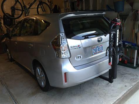 prius roof rack bike rack for prius v priuschat