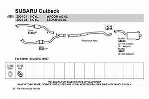 35 2002 Subaru Outback Exhaust Diagram