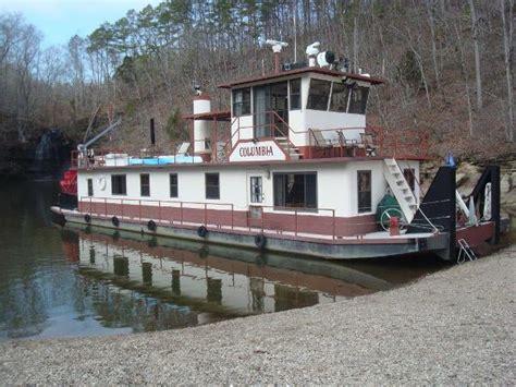 Paddle Boat For Sale Miami by 1986 Tucker 84 Sternwheeler Paddlewheeler Pickwick Lake