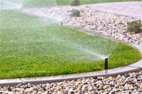landscape sprinkler system basics of lawn sprinkler system design lovetoknow