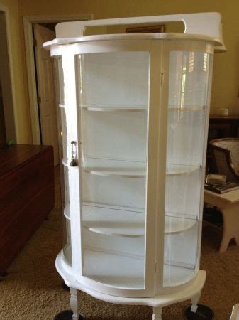 white curio cabinet white curio cabinet not sure i could paint mine but it is