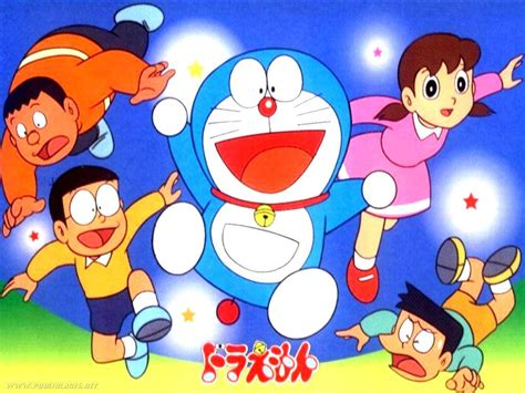 Jiyan Nobita Doraemon Shizuka Suneo.