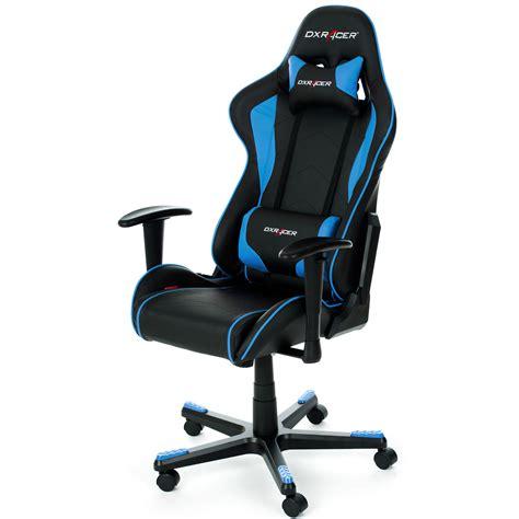 siege gamer dxracer dxracer formula fl08 bleu siège pc dxracer sur ldlc