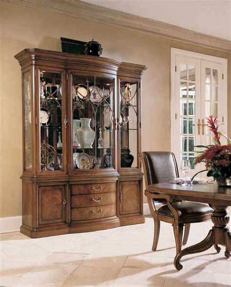 Bobs Furniture China Cabinet by American Drew Bob Mackie Home Classics China Cabinet