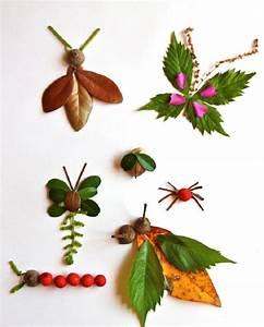 Mit Blättern Basteln : pretty crafts involving leaves ~ A.2002-acura-tl-radio.info Haus und Dekorationen