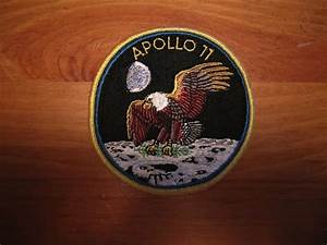 FS: Apollo 11 original (BIG) crew patch - collectSPACE ...