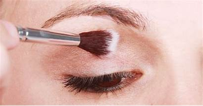 Brushes Makeup Using Correctly Crease Brush Eye