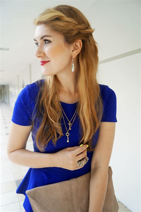 7 quick but cute hairstyles for work aelida