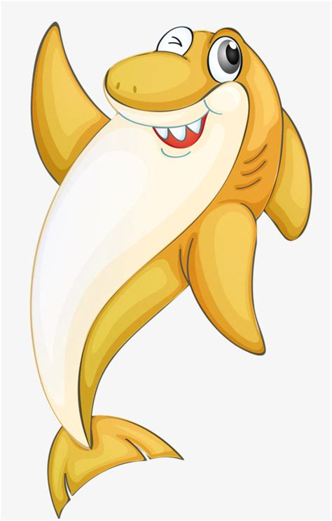 yellow shark shark clipart shark yellow png transparent