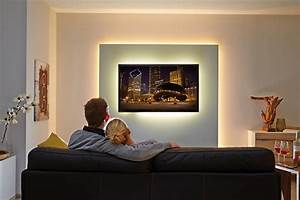 Fernseher Für Kinderzimmer : 21 stilvolle ideen f r indirekte wandbeleuchtung beleuchtung deko feiern zenideen ~ Frokenaadalensverden.com Haus und Dekorationen