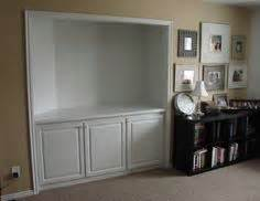 built in entertainment center designs turn a closet into