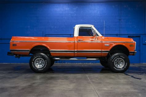 Used 1972 Chevrolet C10 Cheyenne 4x4 Truck For Sale 26718a