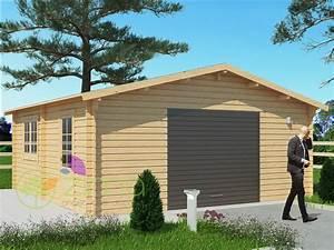 Garage Bois En Kit : garage en bois 600x600 44mm 36m ~ Premium-room.com Idées de Décoration