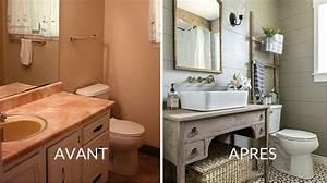 Relooking Salle De Bain Avant Apres : id e d coration salle de bain avant apr s la salle ~ Zukunftsfamilie.com Idées de Décoration