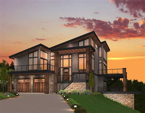 exclusive trendsetting modern house plan