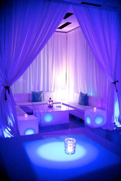 Decorating Ideas For Lounge by Rooftop Lounge Decor For A Birthday Celebration