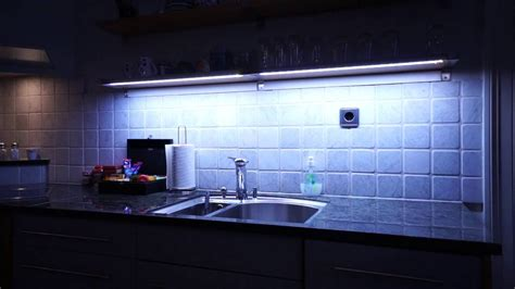 kitchen cupboard led lights dimmable led kitchen light using arduino and apds 9960 8688