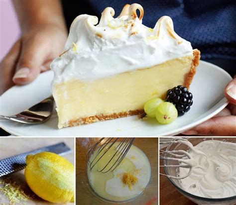 lemon meringue custard pie recipe pictures