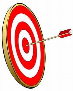 100% bullseye clipart
