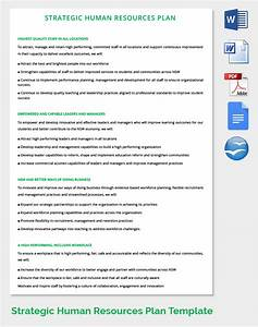 Hr strategy template 39 word pdf documents download for Human resources strategic planning template