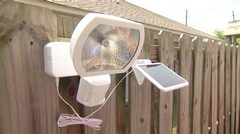 heath zenith solar powered motion security light today s