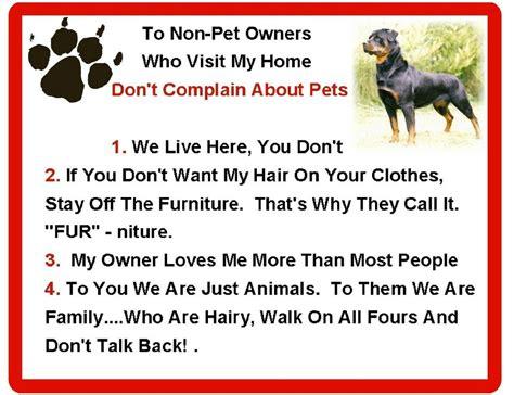 funny dog rottweiler house rules refrigerator magnet